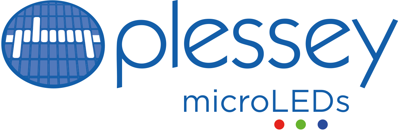 Plessey MicroLEDs logo