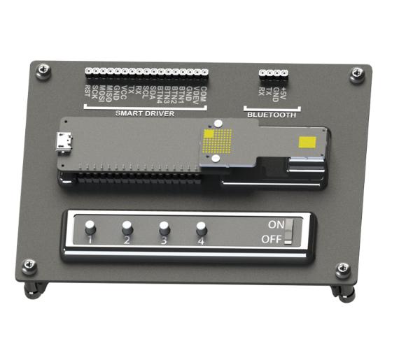 microLED display development kit
