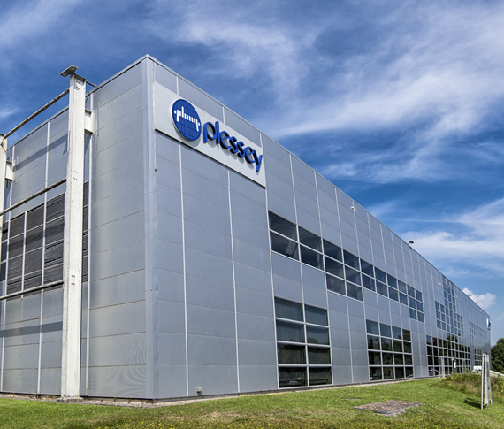 Plessey Semiconductors Ltd headquarters manufacturing facility